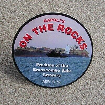 RARE/COLLECTABLE NAPOLI'S ON THE ROCKS PUMP CLIP.