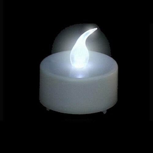 lot de 24 bougies led blanches romantique pour fete. Black Bedroom Furniture Sets. Home Design Ideas