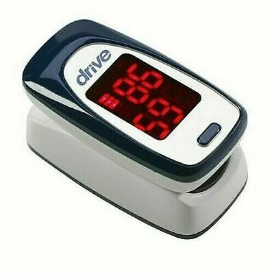 Drive Medical Fingertip Pulse Oximeter Monitor Your Pules Mq3000 Brand New