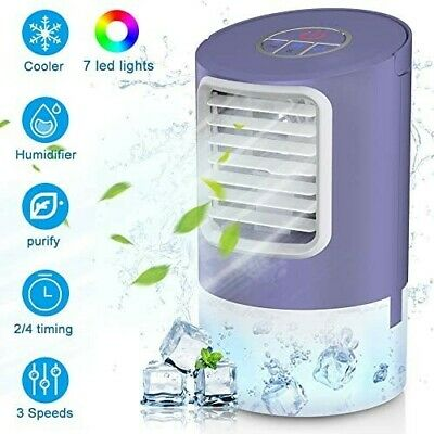 Air Cooler 4 in 1 Air Conditioner Personal Space Cooler Humidifier air purifier