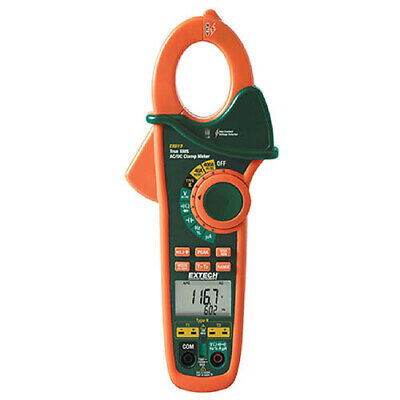 Extech Ex613 400a Dual Input Clamp Meter And Ncv Acdc