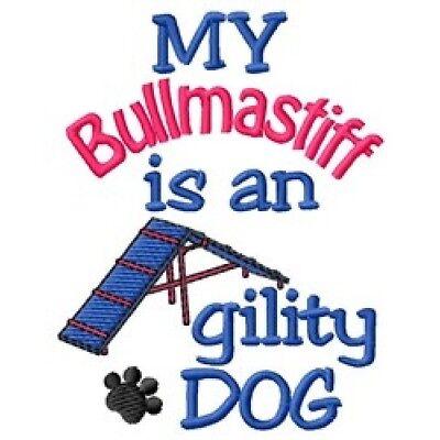 My Bullmastiff is An Agility Dog Fleece Jacket - DC2038L Size S - XXL
