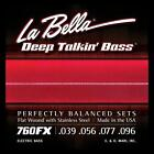 La Bella Flatwound Strings