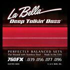 La Bella Flatwound Strings