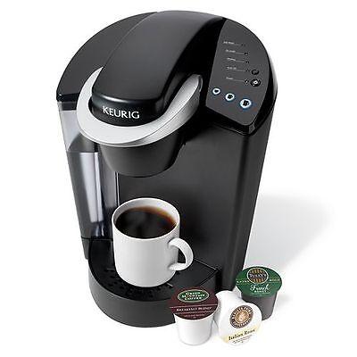 New Keurig K45 Elite Brewing System Single Serve Coffee Maker Brewer  Black