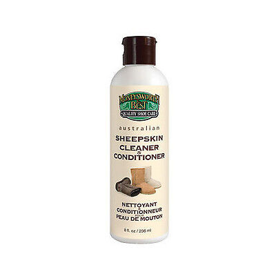 Moneysworth & Best Sheepskin Boots Leather Cleaner Conditioner Protector 8oz