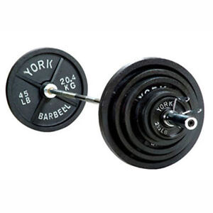 300lb York Olympic Weight Set