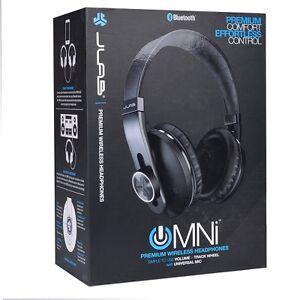 JLab Audio OMNI Premium Folding Bluetooth Wireless Over-Ear Headphone with Mic
