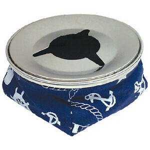 Navy-Blue-Non-Slip-Windproof-Ashtray-with-Stainless-Steel-Top-for-Boats