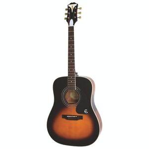 Epiphone PRO-1 Plus Acoustic Guitar-Vintage Sunburst -NEW in box