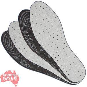 2-pairs-Unisex-Footwear-Shoe-Insoles-Inner-Soles-cut-to-size-white-BNIP