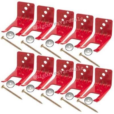 10 - Amerex Fork Style Bracket Wall Hook For 5 -10 Lb. Fire Extinguisher