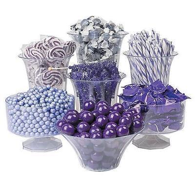 Candy Buffet Purple Gum Balls Taffy Lollipops Hard Candy 11 - Purple Candy Buffet