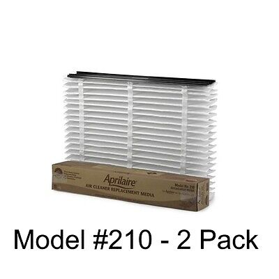 Aprilaire 210 Replacement Air Filter Media 2 PACK - Brand New & Genuine OEM