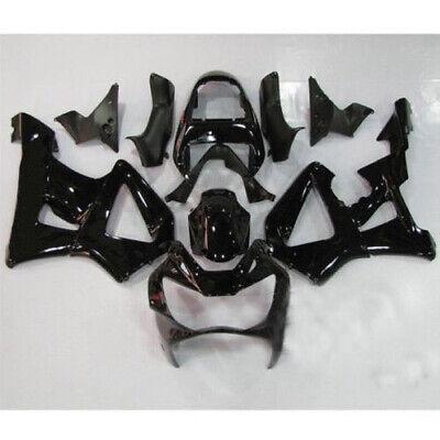 Glossy Black Fairing Kit For Honda CBR929RR 2000 2001 ABS Injection Body Work US