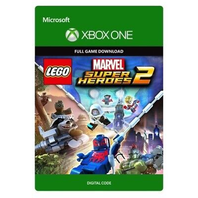 LEGO MARVEL SUPER HEROES 2 * XBOX ONE GAME DOWNLOAD * SAME DAY TEXT MSG DELIVERY