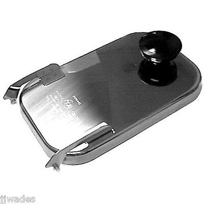 Server Products 82545 Stainless Steel Hinged Fountain Jar Lid For 82557 82558
