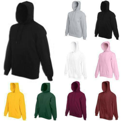 Vicabo Men's Women's Hoodie Sweatshirts Coat Solid Design Bl