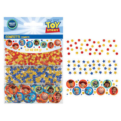 TOY STORY 4 CONFETTI VALUE PACK (3types) ~ Birthday Party Supplies Decorations (Toy Story 3 Birthday)