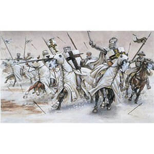 ITALERI Teutonic Knights 6019 1:72 Figures Kit