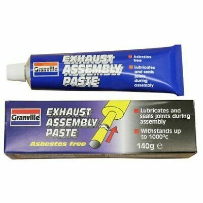 GRANVILLE 0432 EXHAUST ASSEMBLY PASTE SEALANT SEALER 140g LEAK PROOF JOINTS