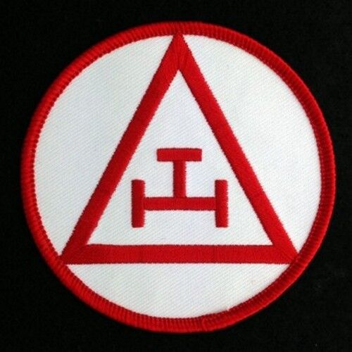 Masonic Royal Arch Chapter Embroidered Emblem Patch (RAM-3)
