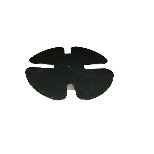 Friction Master Rear Brake Kit Set of 2 Rotors and 4 Metallic Pads BK1808m