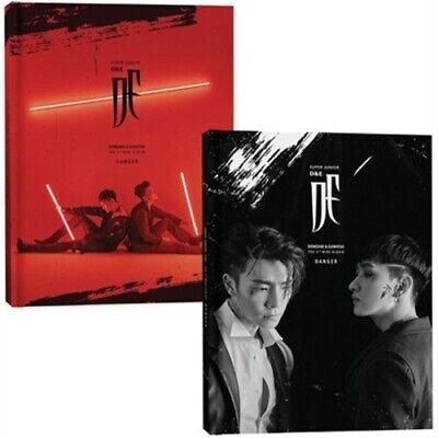 Super Junior D&E-[Danger] 3rd Mini Album Black CD+Book+Card+etc+Gift+Tracking