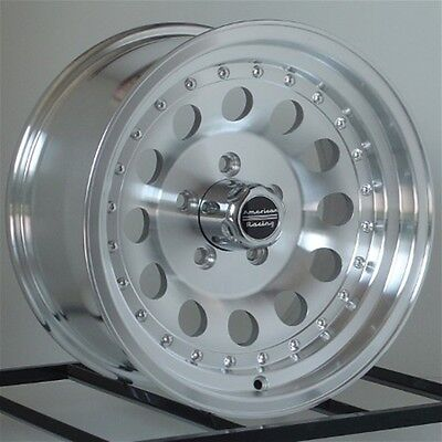 "15 Inch Wheels Rims Chevy S10 Blazer El Camino 15x7"" 5x4.75 GM Car ARE Outlaw II"