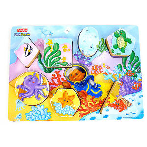 Puzzle en bois Little People Fisher-Price