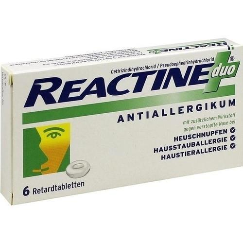 REACTINE duo Retardtabletten 6 St. PZN:7387580