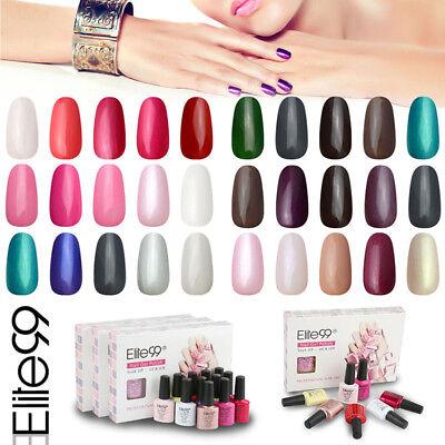 Elite99 Soak Off 5 Colors Gel Nail Polish UV Lacquer Set Man