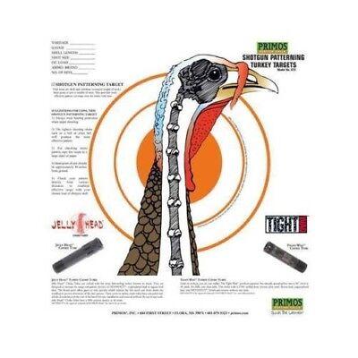 Primos 6041 Shotgun Patterning Turkey Target 12pk