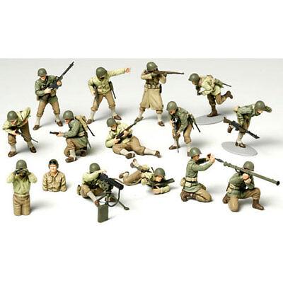 TAMIYA 32513 WWII US Army Infantry GI Set 1:48 Military Model Kit
