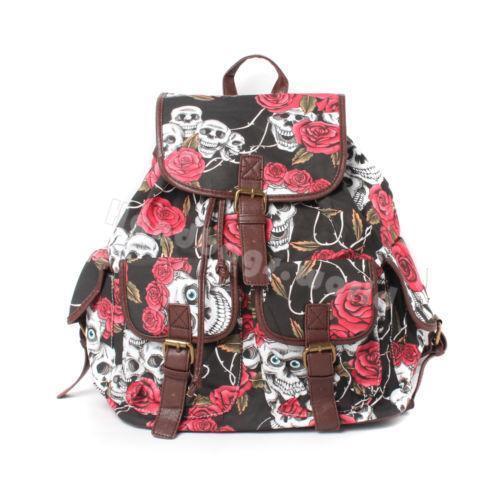 7ab4aa95e74b Skull Backpack