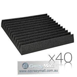 40 pcs Studio Wedge Acoustic Foam 30 x 30cm Sydney City Inner Sydney Preview