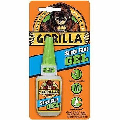 Gorilla Glue Super Glue Gel Big 15g Bottle No Run-control