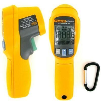 Fluke 62 Max Plus Infrared Thermometer -22 To 1202 Degrees F Range - New