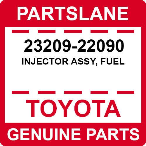 23209-22090 Toyota Oem Genuine Injector Assy, Fuel
