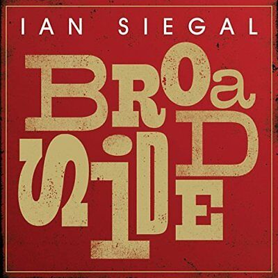 Ian Siegal-Broadside CD NEW for sale  Shipping to Ireland