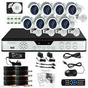 8 Security Camera System Outdoor