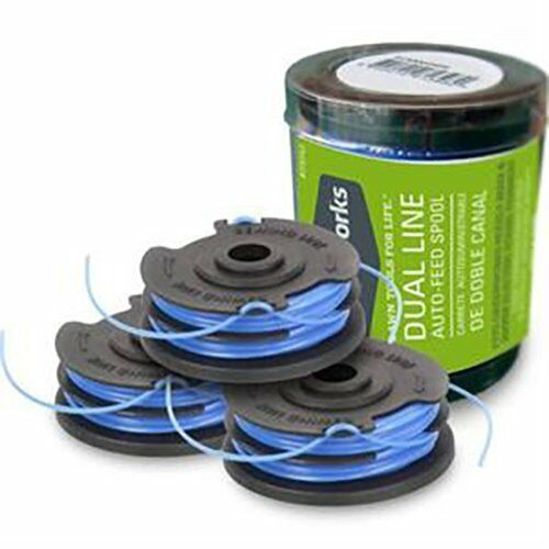 3-Pack Replacement Trimmer Line Spool for 21052 and 21212 -