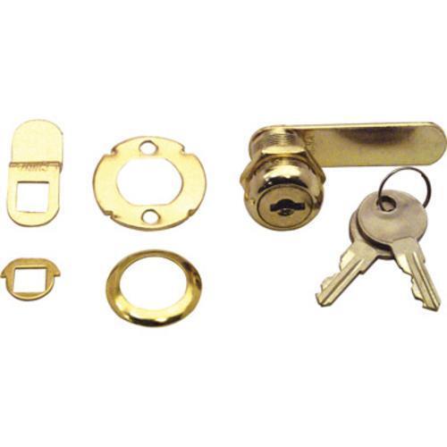 "Prime Line U9944 Drawer And Cabinet Lock, 9/16"""