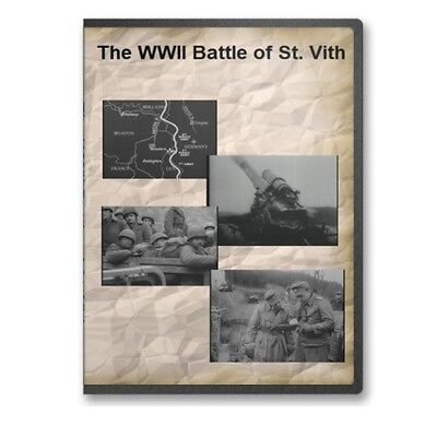 The WWII Battle of St Vith Documentary 84th Infantry Division DVD A761