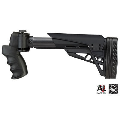 ATI Folding Shotgun Stock BLK B 1 10 1135 for Mossberg