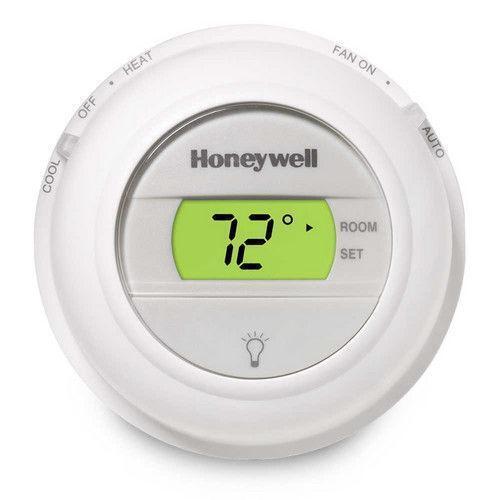 honeywell digital round thermostat ebay. Black Bedroom Furniture Sets. Home Design Ideas