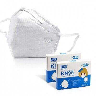 10x KN95 Kinder Atemschutzmasken Mundschutz FFP2 Level