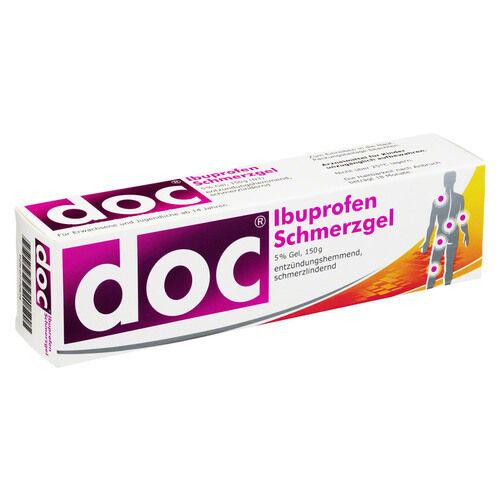 DOC IBUPROFEN Schmerzgel, 150g, PZN 7770675 (7,71€/100 g)