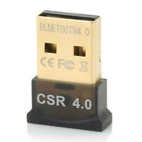 CSR V4.0 Mini USB Bluetooth Dongle Adapter Dual Mode for Windows