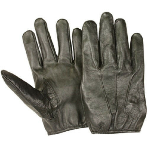 NEW Tactical Police Law Enforcement Made with Kevlar Leather SWAT Gloves -  XL